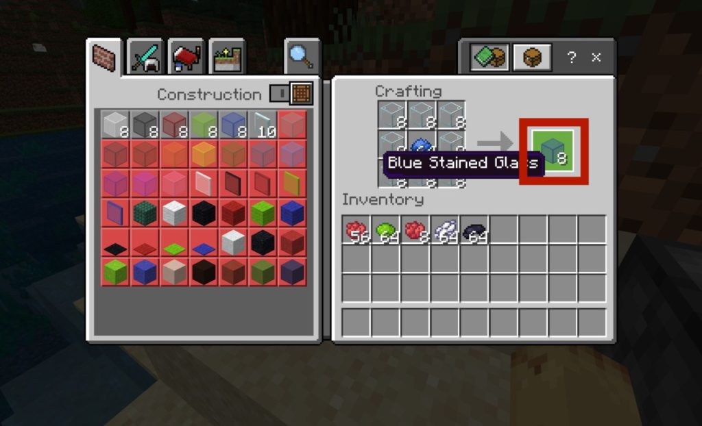 how-to-dye-glass-blocks-in-minecraft-step3